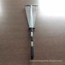 Adjustable  Garden Rake and Lawn Rake , Weeding rake , factory price Leaf Rake and Landscape Rake  Scalable