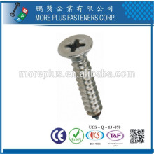 Made in Taiwan M4 Colored Head Screw for Decoration Phillip Drive Countersunk Head Screw