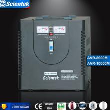 Pantalla del voltaje del voltaje 220v de la salida Estabilizador del voltaje Regulador de voltaje automático del AVR 8000VA