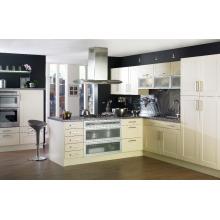 15-20 jours livraison rapide 18MM E0 standard écologique environnement amovible en PVC membrane cabinet de cuisine