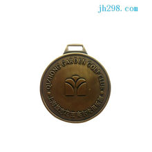Guangdong Manufacturer Round Matal Plate Metal Badge