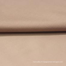 Tissu de chemise en satin de coton tencel