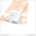 Hot Transfer Printing Super Fine Fiber Baby Wiping Cloth