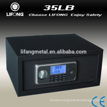 High quantity electronic LCD display home & hotel room deposit safe box