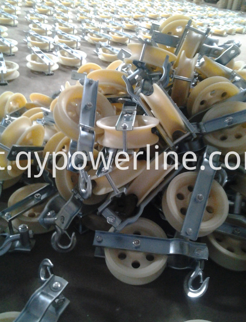 Stringing Equipment Earth Wire Stringing Block