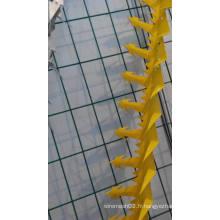 Clou protecteur en PVC enduit pour la protection