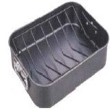 Non-Stick Carbon Steel Roast Pan with V Rack