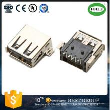 Fbusba2-111 conector de montaje en panel XLR conector USB (FBELE)