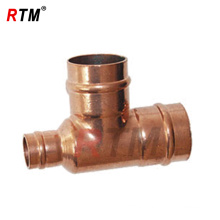 3 inch copper reducing tee fittings