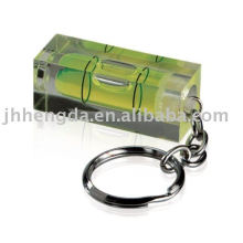 promotional keychain with water level
