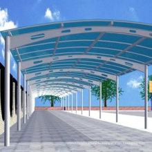 Structure de stationnement de voiture préfabriquée en acier léger (WZG60)