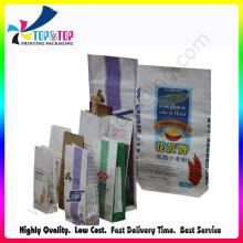 Различная простая бумажная фасованная сумка для продажи