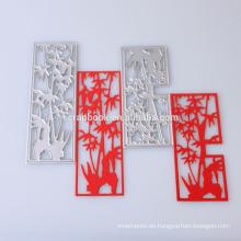 2015 neue Design Muldenform Metall Schablone ausschneiden für Papiermodelle