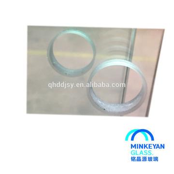 ventana de vidrio incombustible panel de 90 minutos 120 minutos 6mm-19mm para la puerta