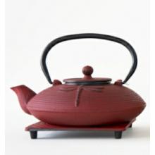 Самый популярный 0,8-литровый японский чугунный чайник с прямыми линзами с различными цветами