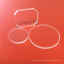 Janela de safira com revestimento anti-reflexo AR para relógio