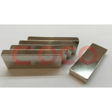 Rare Earth Permanent Block Stick Shapes Linear Motor Magnets