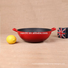 Hot sale product induction cast iron wok