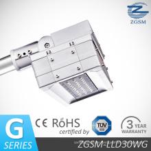 30W LED calle luz CE/RoHS/FCC con la viruta de Bridgelux LED