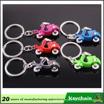 Chaveiro carro Motor elétrico com muitas cores