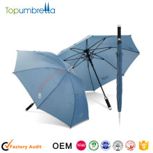 2016 Strong windproof auto open golf umbrella with standard size