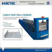 Hochwertige Kabeltrassenproduktionslinie, GI Kabelrinnenmaschine