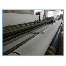 Geotêxtil não tecido perfurado agulha da fibra curta
