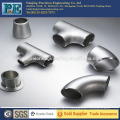 Precision casting brass 90 degree elbow pipe fitting