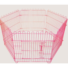Pet Dog Playpen Puppy Cage 8 Painel Metal Fence Run Garden Frame Black