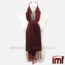 Classical Plaid Red Scarf