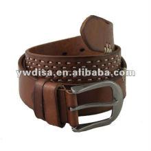 Ручной кожаный пояс для мужчин