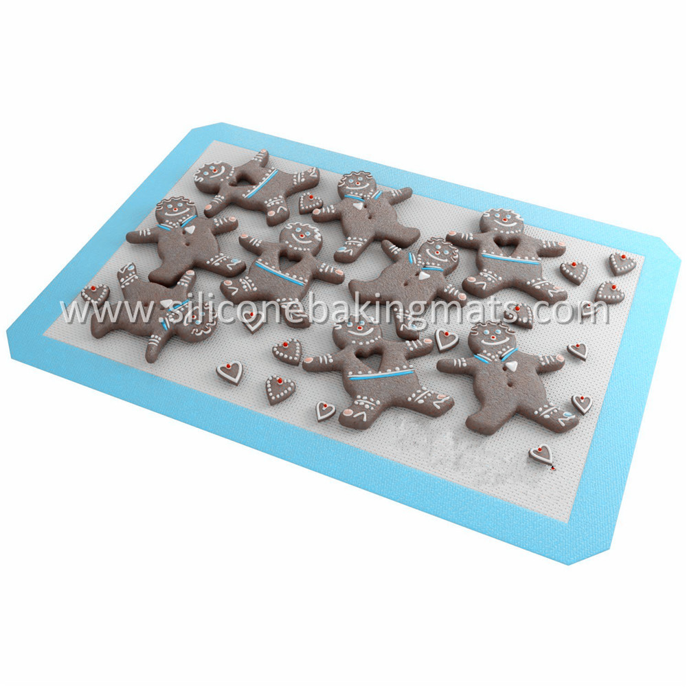Blue Silicone Baking Sheet
