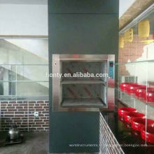 Serveurs normaux à la maison d'ascenseur de cuisine d'ascenseur professionnel de cuisine de 100-200kg