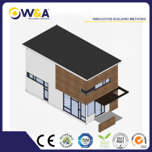 (WAD4002-45S) Townhouse Residence Modular House Philippines Maisons préfabriquées