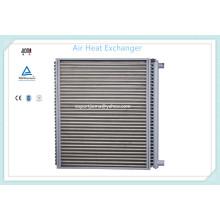 Trocador de calor do ar do tubo de aço de carbono da aleta de alumínio da água quente