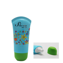 30g oval shape baby cream 2 layer tube