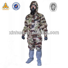 chemical protective suit