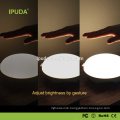 2017 new inventions IPUDA acrylic night light with zero touch dimmable control rechargeable battery
