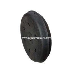 "814-158C 3"" x 13"" Press wheel with single rib tire"
