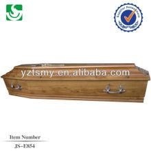material do punho de zinco de carvalho para o caixão tradicional