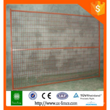 different color pvc coated temporary fence to Canada