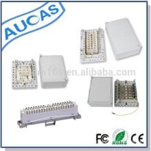 Boîte de distribution de puissance de style UK pour le câble téléphonique et le module krone 30/50/100 paires sont disponibles