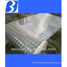 laser transfer film for cigarettes wrap
