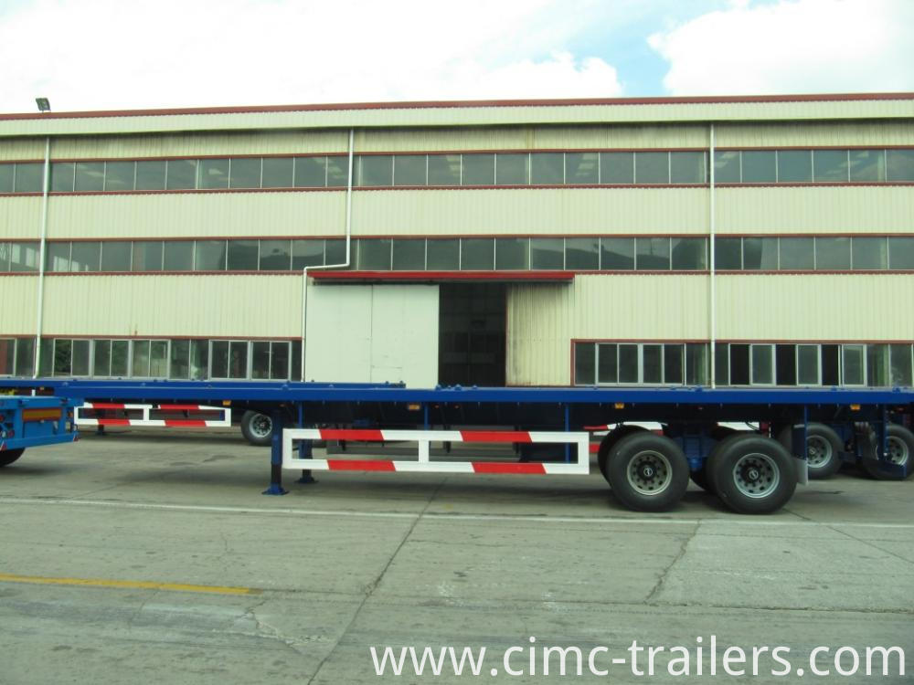 L 40 Two Axle Flatbed Semi Trailer