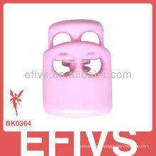 2013 Fashion Pink Cord Lock para Llavero de Paracord