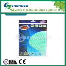 Cleanroom cleaning rags 33*50cm green blue