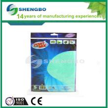 Нетканый материал для медицинских 33 * 50см зеленый синий
