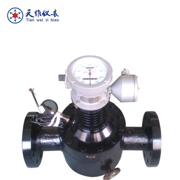 Electronic Analog Output Diesel Fuel Oil Flow meter