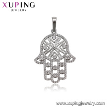 32327 xuping fashion rhodium color luxury women jewelry muslim pendant