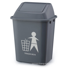 Grey 20L Waste Trash Container